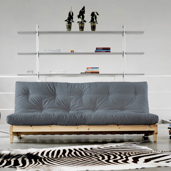 Canapea extensibilă Karup Fresh Natural/Gris