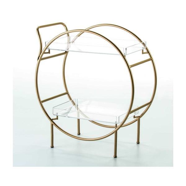 Barový stolek ve zlaté barvě Thai Natura
