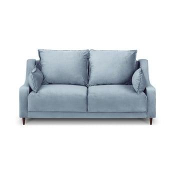 Canapea cu 2 locuri Mazzini Sofas Freesia, albastru deschis de la Mazzini Sofas