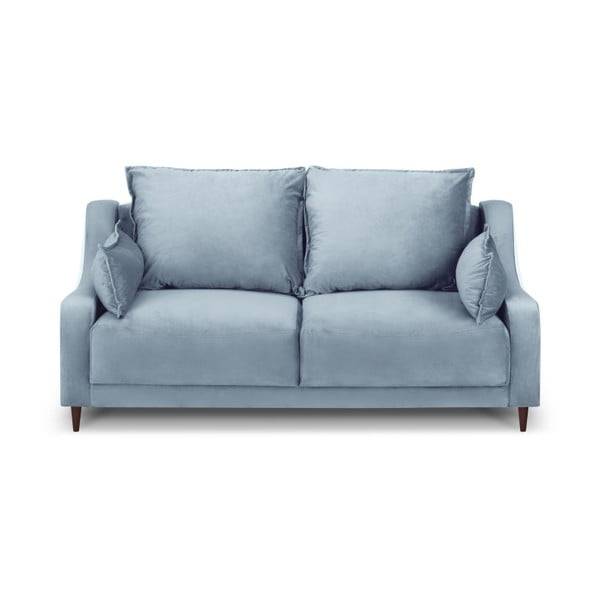 Canapea cu 2 locuri Mazzini Sofas Freesia, albastru deschis