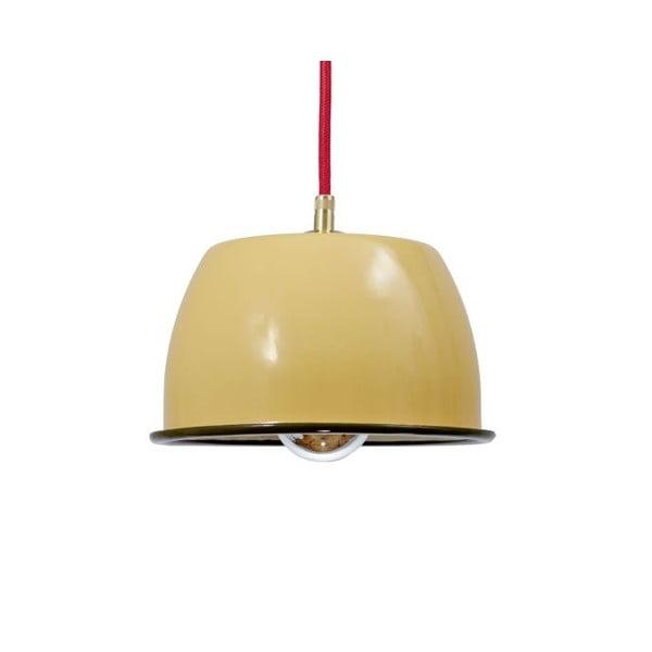 Stropní svítidlo Emailleleuchte 05 Yellow/Red
