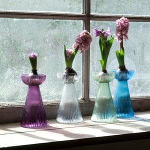 Váza Hyacinth, průhledná