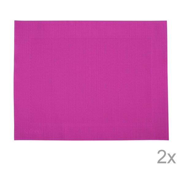 Sada 2 prostírání Saleen Pink, 30x40 cm