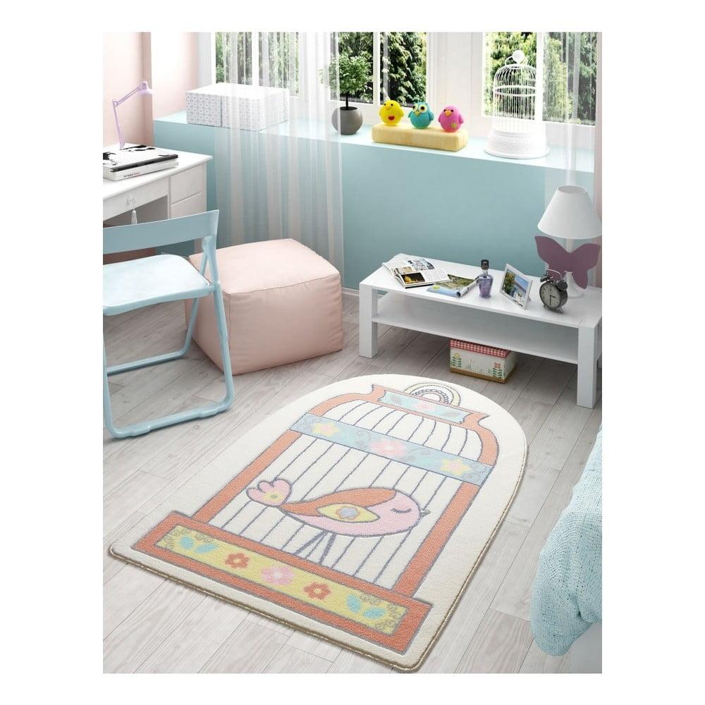 Dětský koberec Confetti Happy Cage, 100 x 150 cm
