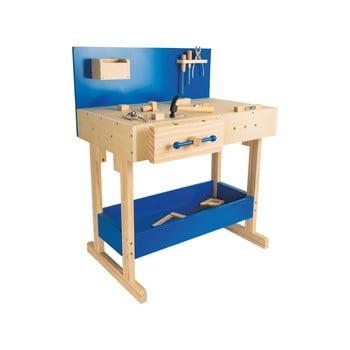 Set bancă de lucru și unelte din lemn pentru copii Legler Workbench