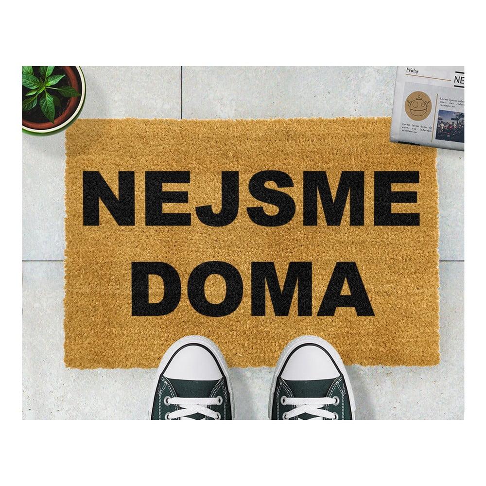 Rohožka Artsy Doormats Nejsme doma, 40 x 60 cm