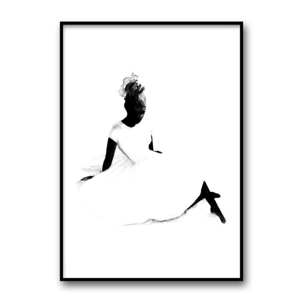 Autorský plakát Ballerina, A4