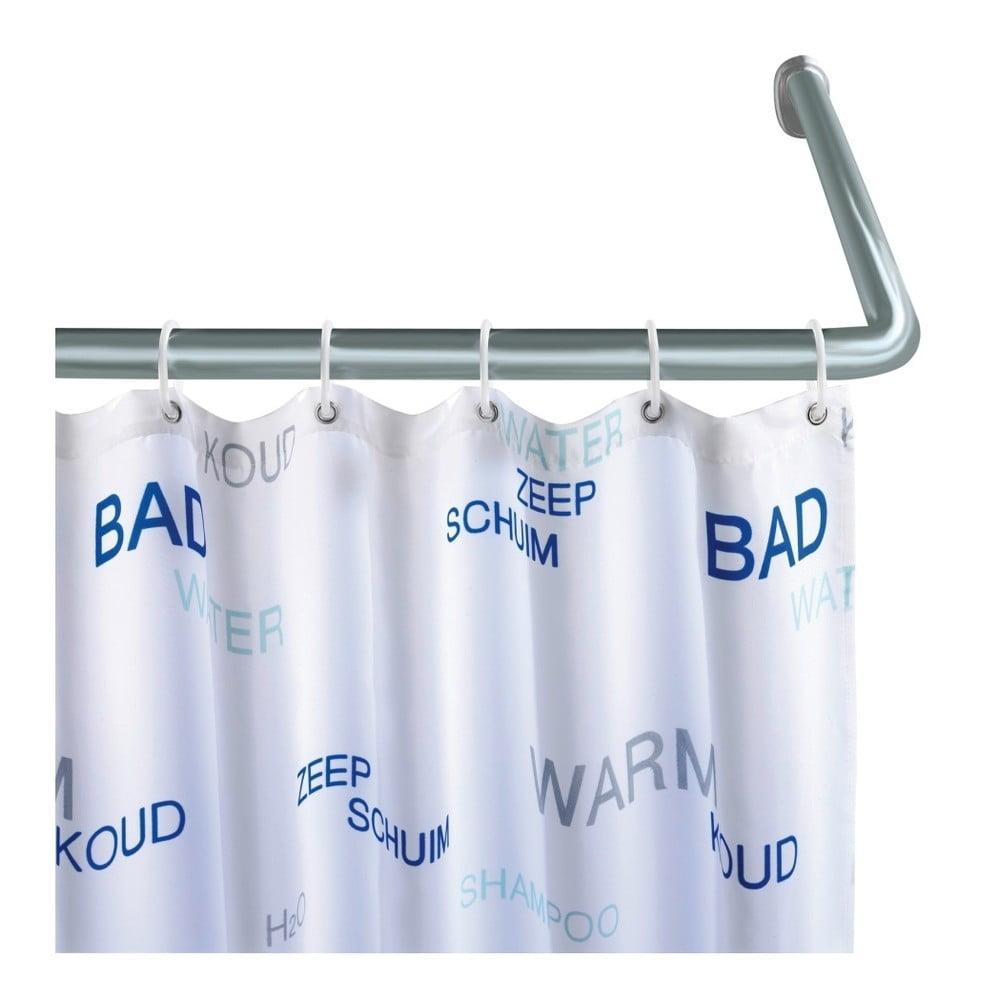 Univerzální rohová tyč na sprchový závěs Wenko Shower Curtain Rod Wenko