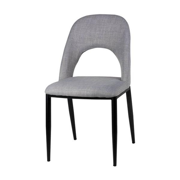 Set 2 scaune sømcasa Anika, gri deschis