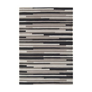 Covor Asiatic Carpets Harlequin Linia, 170 x 120 cm, gri - albastru