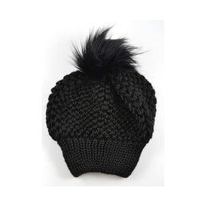 Dámská čepice Beret Black