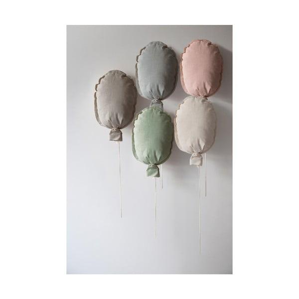 Šedý dekorativní polštář Little Nice Things Ballon