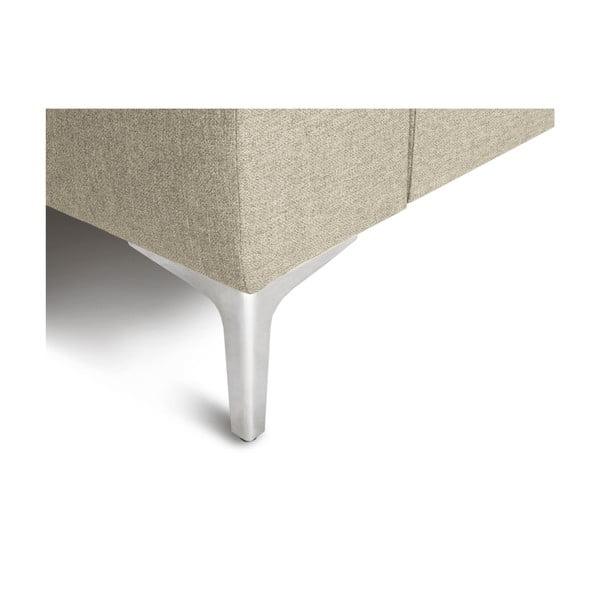Béžová rohová čtyřmístná pohovka Cosmopolitan Design Cartegena, levý roh