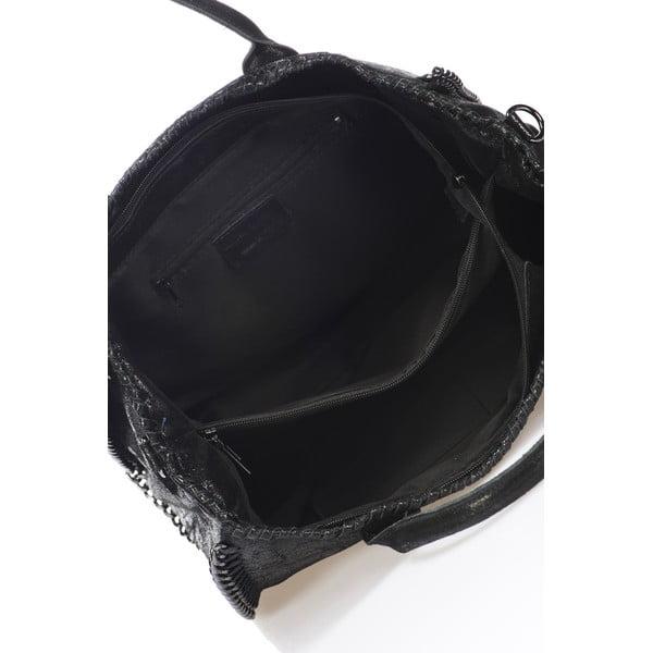 Kožená kabelka Markese 1169 Black