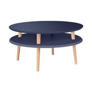 Grafitově šedý konferenční stolek Ragaba UFO Low