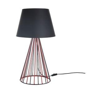 Stolní lampa Wiry Red/Black