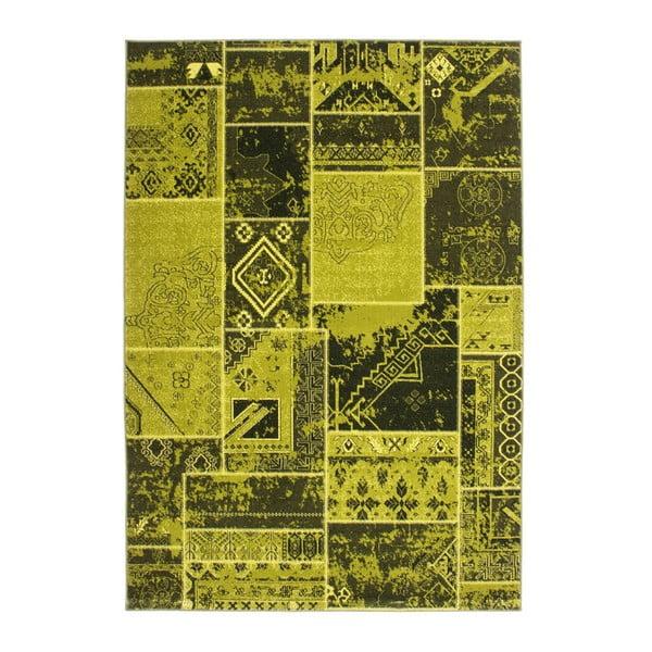 Koberec Retro, green, 80x150 cm