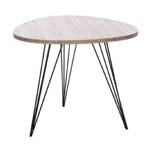 Stolek Retro Table Met, 60 cm