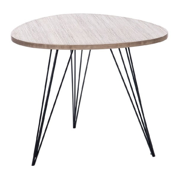 Stolek Retro Table Met, 60 cm