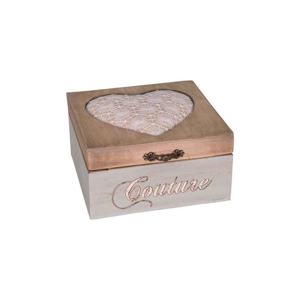 Krabička na šití Antic Line Aime Couture