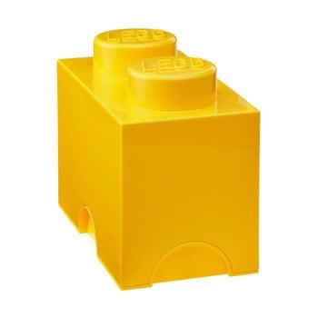 Cutie depozitare LEGO®, galben
