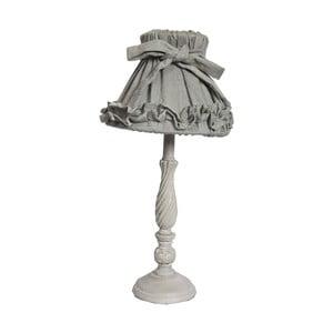 Stolní lampa Antic Line Romance Grey, výška42 cm
