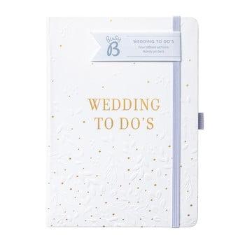 Planificator de nunta Busy to do, alb imagine