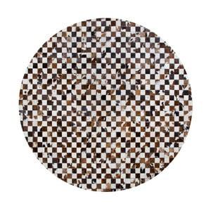 Covor din piele naturală Pipsa Normand, ⌀ 100 cm