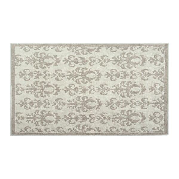 Bavlněný koberec Baroco 120x180 cm, krémový