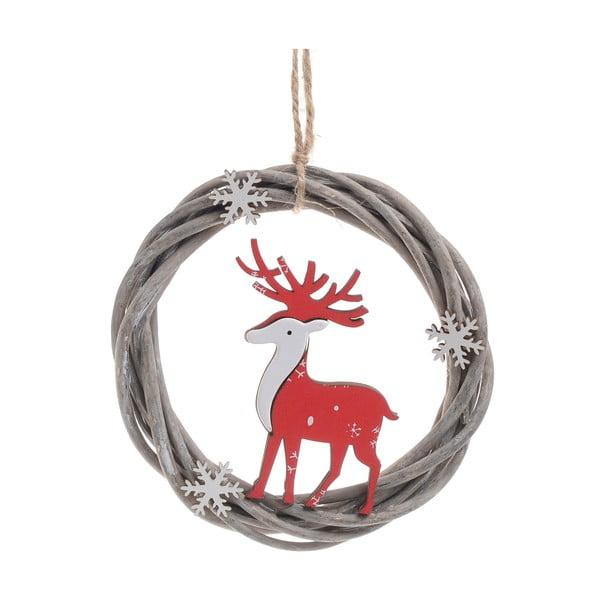 Vánoční dřevěná závěsná dekorace InArt Chantelle