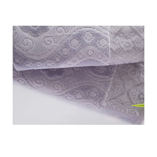 Sada 2 ručníků  Sal Grey, 50x90 cm a 70x140 cm