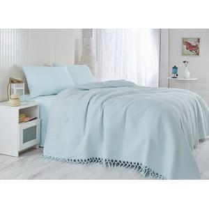 Cuvertură pentru pat Light, 220 x 240 cm, albastru deschis