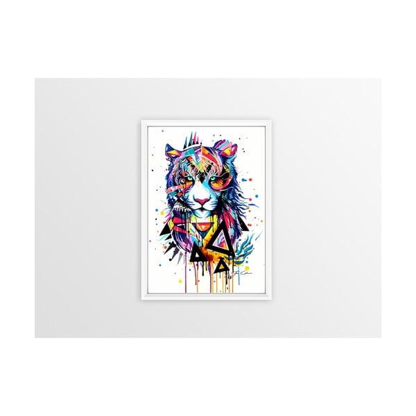 Poster Piacenza Art Rainbow Tiger