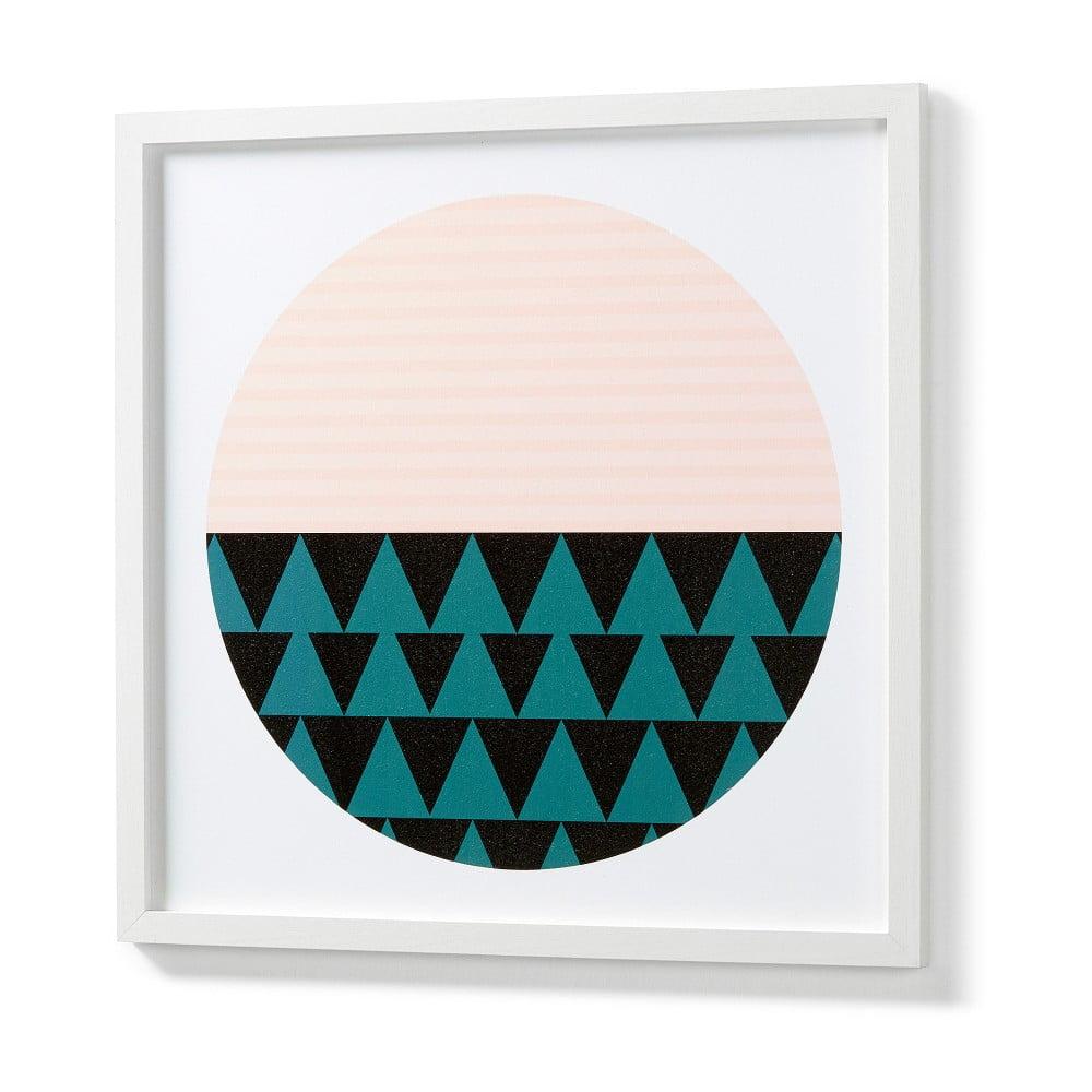 Obraz v bílém rámu La Forma Blanks Duo