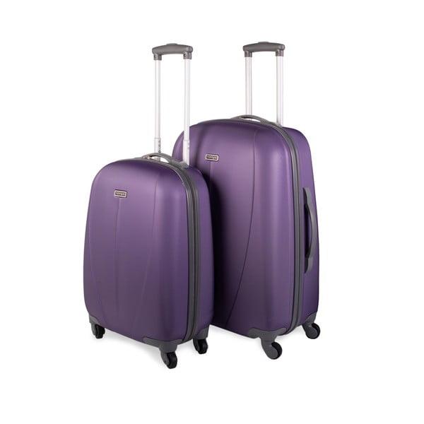 Sada 2 kufrů Tempo, fialová