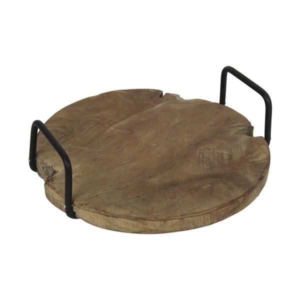 Taca z drewna tekowego HSM Collection Handvat