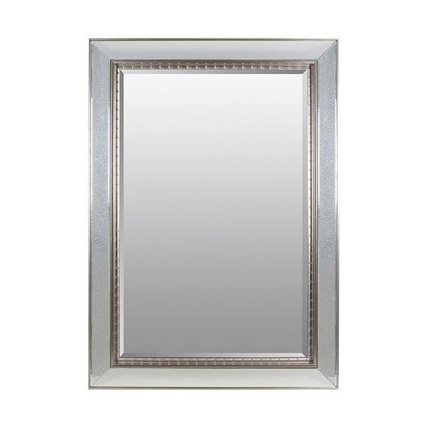 Nástěnné zrcadlo ve stříbrné barvě Santiago Pons Silver Drops,80x110cm
