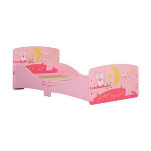 Dětská postel Owl Junior, 140x70 cm