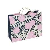 Růžová dárková taška Tri-Coastal Design Navy Blush
