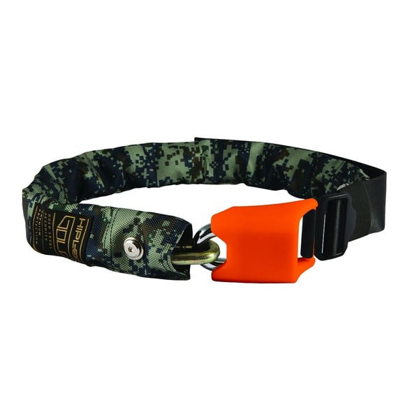 Zámek na kolo Hiplok Gold Camo Orange