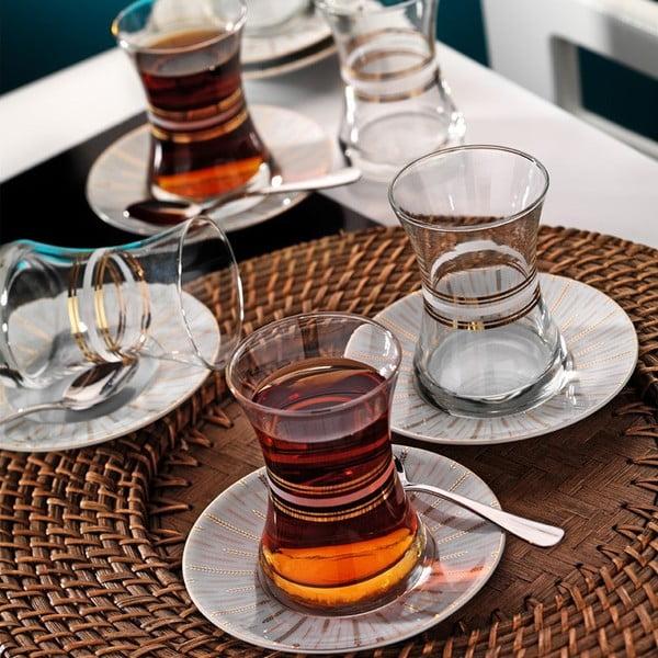 Sada sklenic na čaj Klasika, 6 ks