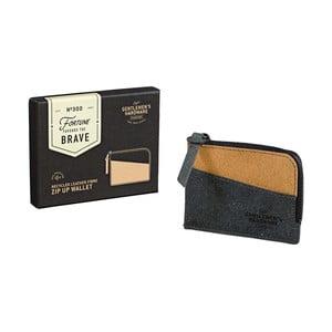 Peněženka na zip z recyklované kůže Gentlemen's Hardware Zip Up