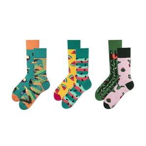 Sada 3 párů ponožek v dárkovém balení Many Mornings Vivid, vel. 43–46