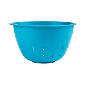 Cedník do salátové mísy, modrý