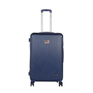 Tmavě modrý cestovní kufr LULU CASTAGNETTE Darwin, 107l