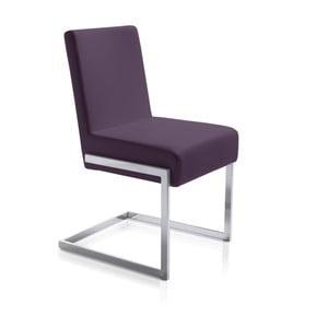 Fialová jídelní židle Ángel Cerdá Leonor