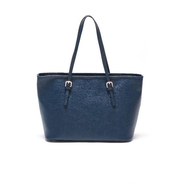 Kožená kabelka Renata Corsi 433 Blu