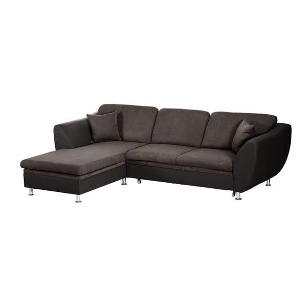Maderna barna kihúzható kanapé, bal oldalas - Florenzzi
