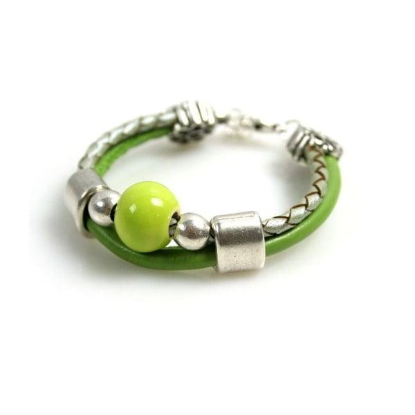 Náramek Ring Stone, zelený
