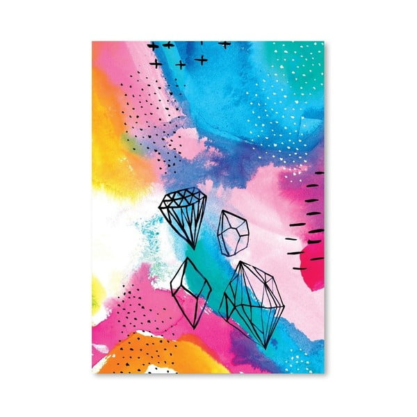 Plakát Shine Bright No.1, 30x42 cm